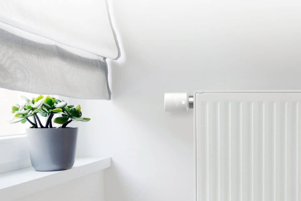 Slimme radiatorknop in huis