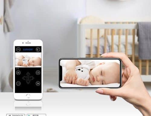 beste slimme babyfoon Luvion Grand Elite 3 Connect