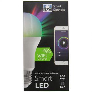 LSC Smart Connect slimme multicolor ledlamp van Action in de verpakking