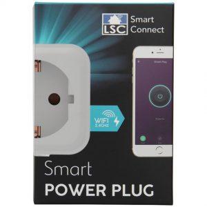 LSC Smart Connect slimme stekker in verpakking van de Action