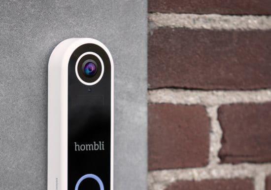 Hombli Slimme Video Deurbel aan de muur