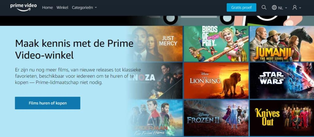 Wat is Amazon Prime Video Store