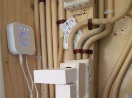 Philips hue bridge bij router