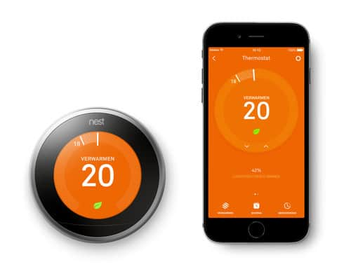 google nest learning thermostaat zonder abonnement