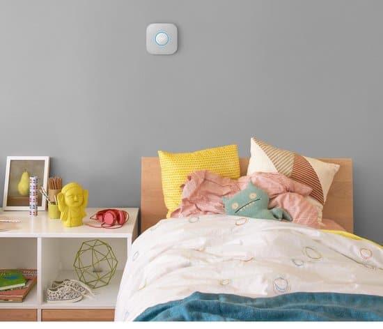 google nest protect in slaapkamer
