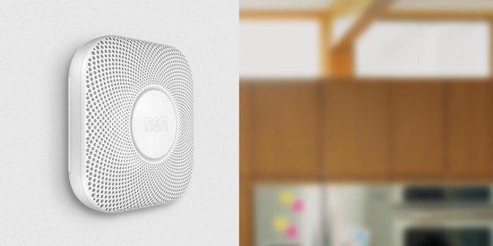 google nest protect aan muur