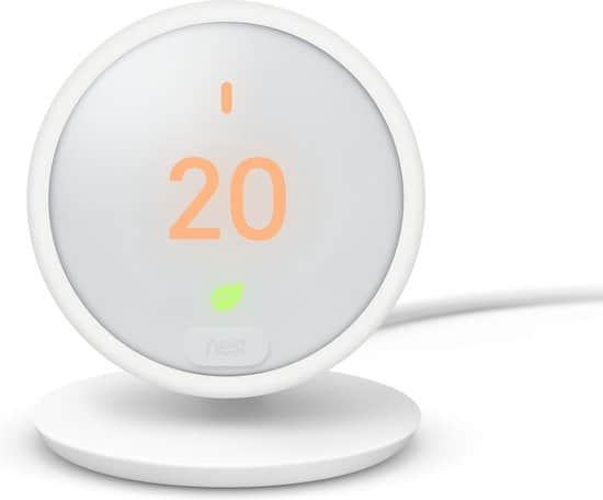 slimme thermostaat zonder abonnement Nest Learning E thermostaat