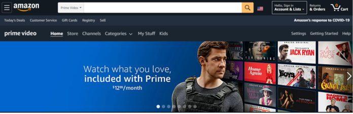 Amazon prime video store