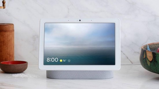 google nest hub max resetten