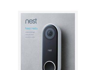 nest hello videodeurbel met draadloze gong