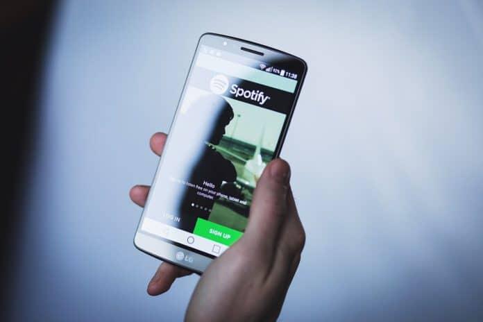 Google home en Spotify