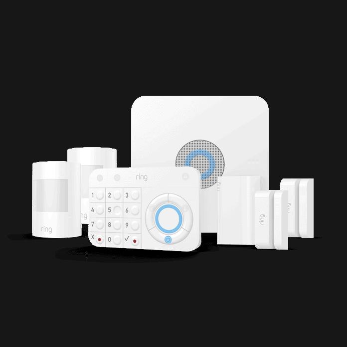alarm security kit van Ring