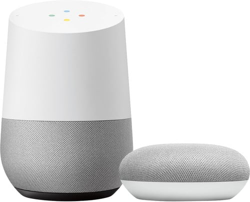 google home speakers koppelen
