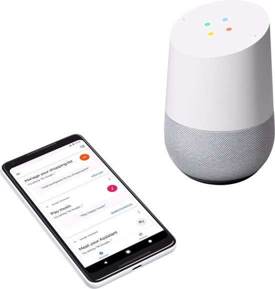 google home boodschappenlijst
