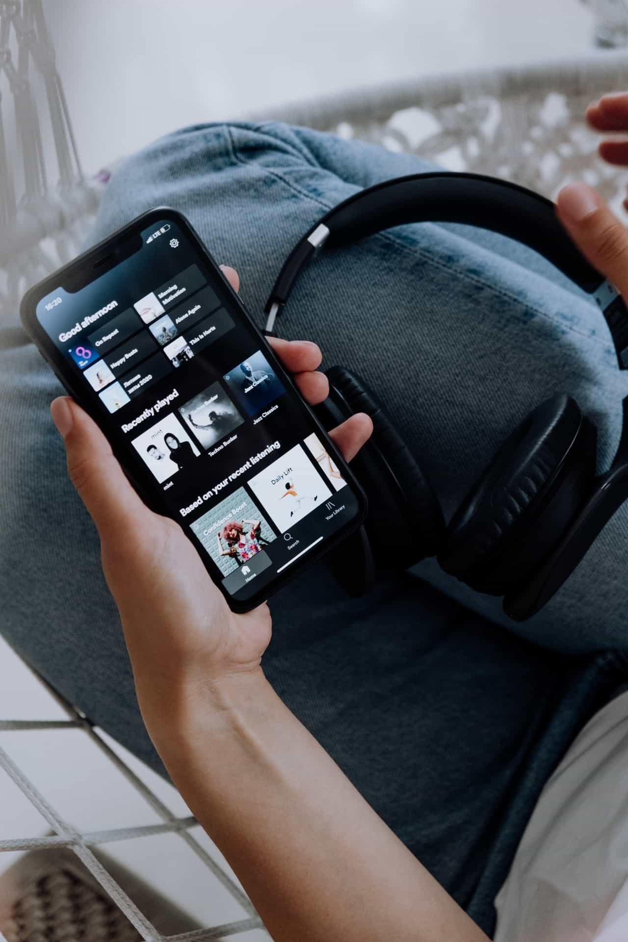 spotify afspelen via chromecast