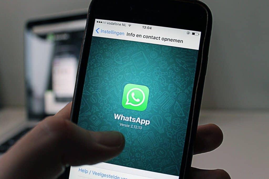 Whatsapp Web op desktop